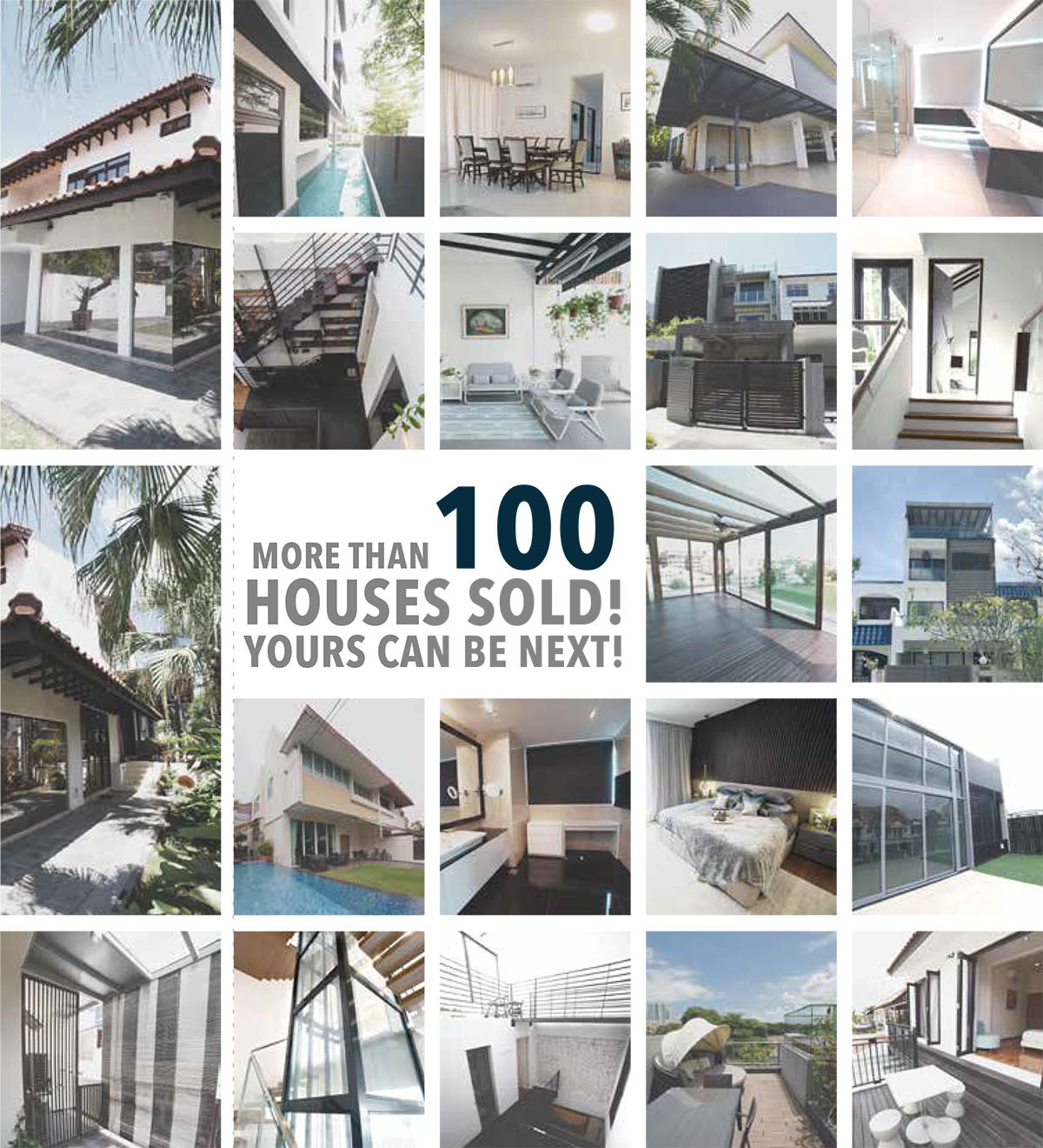 More Than 100 Houses Sold